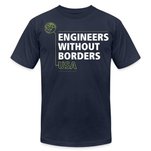 EWB USA Men's T-Shirt - Men's T-Shirt by American Apparel