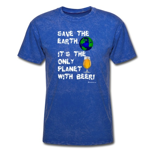 Save The Earth Men's T-Shirt - Men's T-Shirt