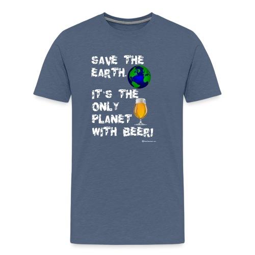 Save The Earth Men's Premium T-Shirt - Men's Premium T-Shirt