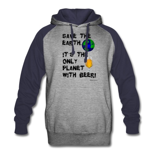 Save The Earth Colorblock Hoodie - Colorblock Hoodie