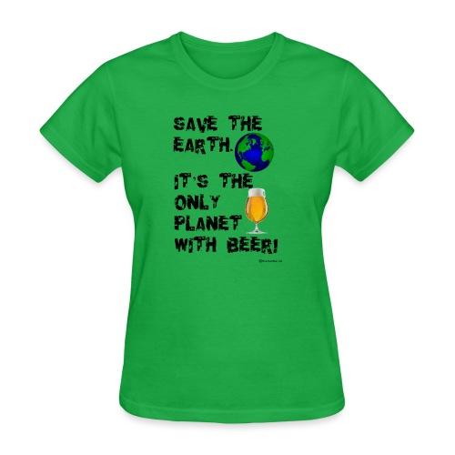 Save The Earth Women's T-Shirt - Women's T-Shirt