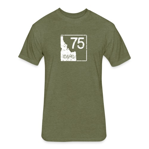Idaho 75 - Fitted Cotton/Poly T-Shirt by Next Level