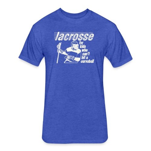 Lacrosse - Fitted Cotton/Poly T-Shirt by Next Level