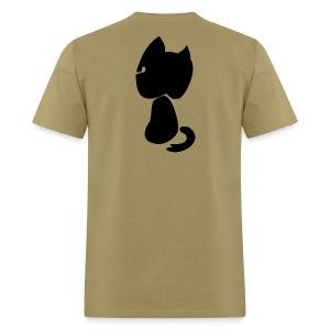 Watching cat - Men's T-Shirt
