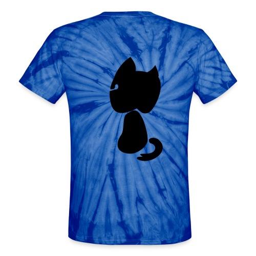 Watching cat - Unisex Tie Dye T-Shirt