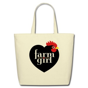 Farm girl tote - Eco-Friendly Cotton Tote