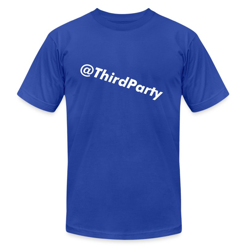 Twitter@ThirdParty - Men's T-Shirt by American Apparel