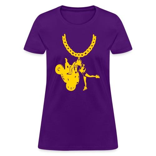 Yo-landi Gold Chain Prp - Women's T-Shirt