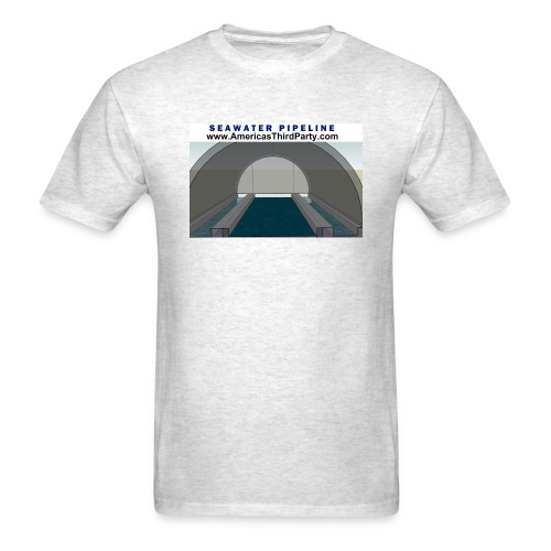 SEAWATER PIPELINE TEE - Men's T-Shirt