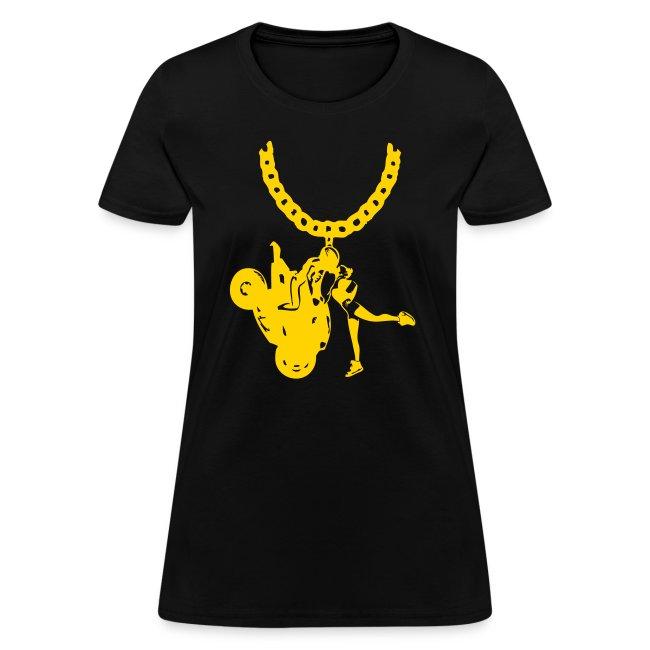 Yo-landi Gold Chain Blk