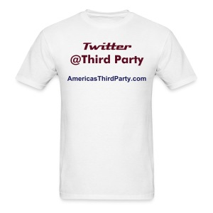 Twitter Third Party - Men's T-Shirt