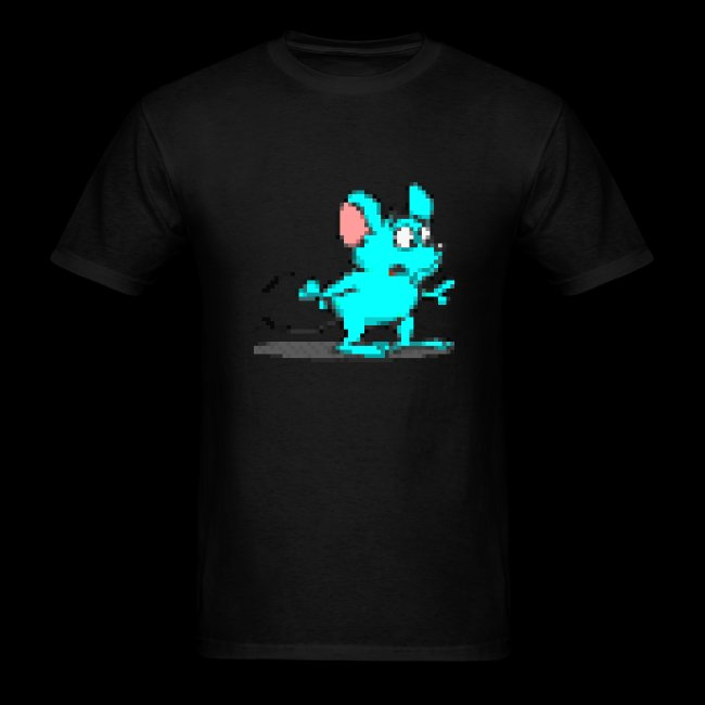 Blue Mouse on front only