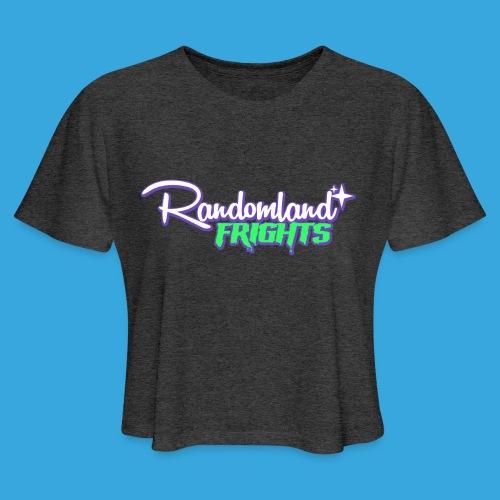Randomland Frights - Women's Crop - Women's Cropped T-Shirt