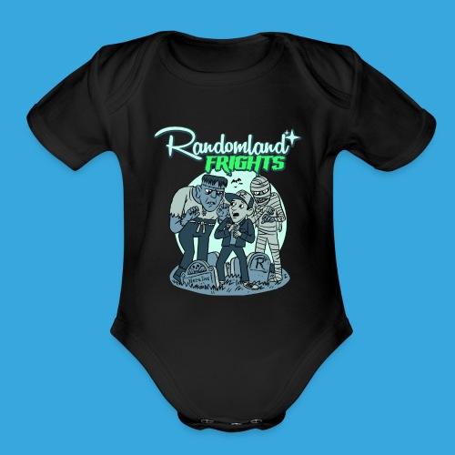 Monsters! Baby Onesie - Organic Short Sleeve Baby Bodysuit