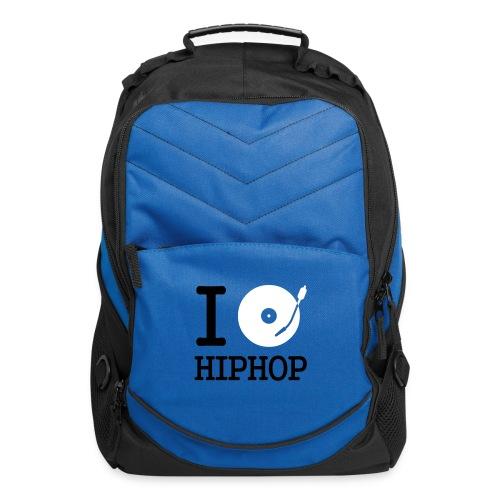 I Love Hip Hop Computer Backpack - Computer Backpack