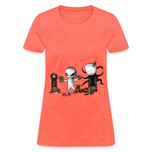 Womens Slender  minon shirt - Women's T-Shirt