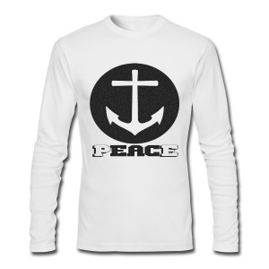 Anchor Peace - Men's Long Sleeve T-Shirt by Next Level