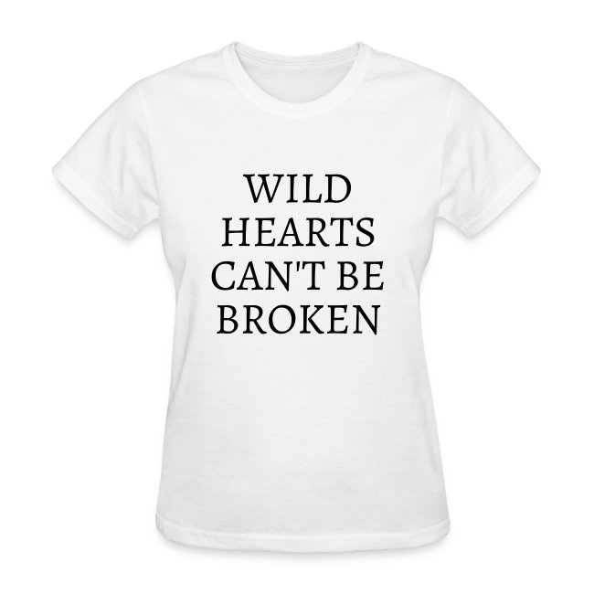 ''Wild Hearts Can't Be Broken'' t-shirt worn by Michelle Keegan
