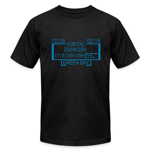 OSH-VOR-Black - Men's Fine Jersey T-Shirt