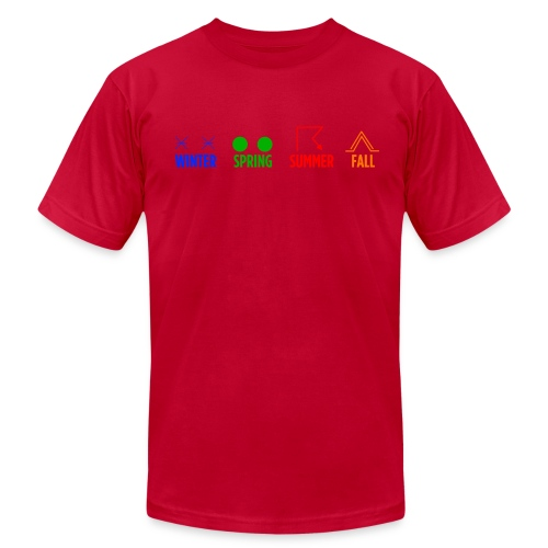 Four Seasons - Men's Fine Jersey T-Shirt