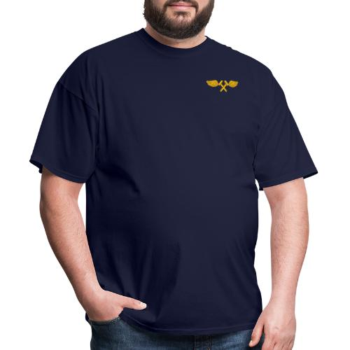 VA-115 Eagles with Airframe Wings - Men's T-Shirt