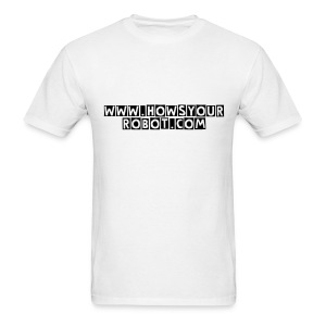 HYR Plain White - Men's T-Shirt
