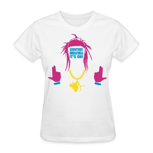 Yo-landi Showtime Muddafukka 4 - Women's T-Shirt