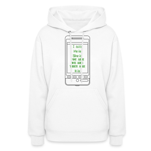 I am, he is - Women's Hoodie