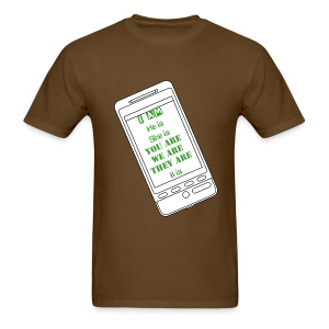 I am, he is - Men's T-Shirt