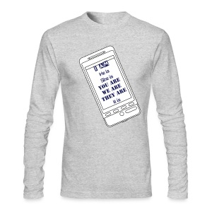 I am, he is - Men's Long Sleeve T-Shirt by Next Level