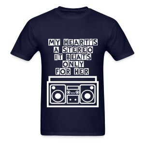 Stereo Love - Men's T-Shirt