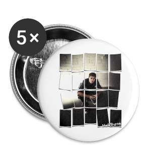 5 Pack Large Buttons - Neil Byrne - Cards Design - Large Buttons