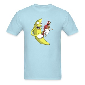 Banana vs Monkey - Men's T-Shirt