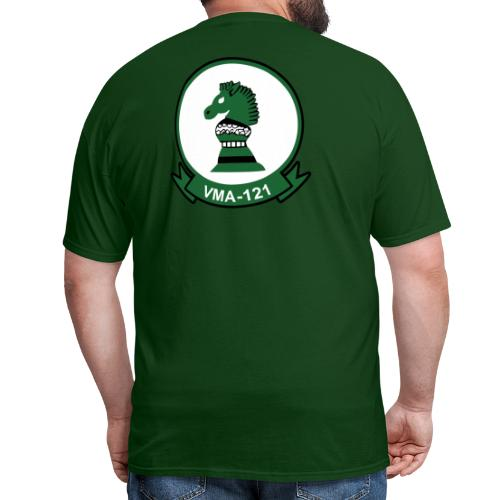 VMA-121 Green Knights with EGA - Men's T-Shirt