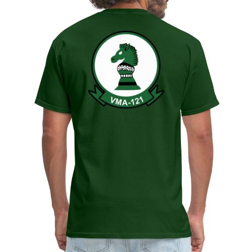 VMA-121 Green Knights with Ordnance Wings - Men's T-Shirt