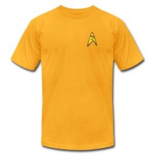 Mission Log Captain Shirt - Men's Fine Jersey T-Shirt