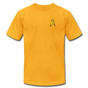 Mission Log Captain Shirt - Men's T-Shirt by American Apparel