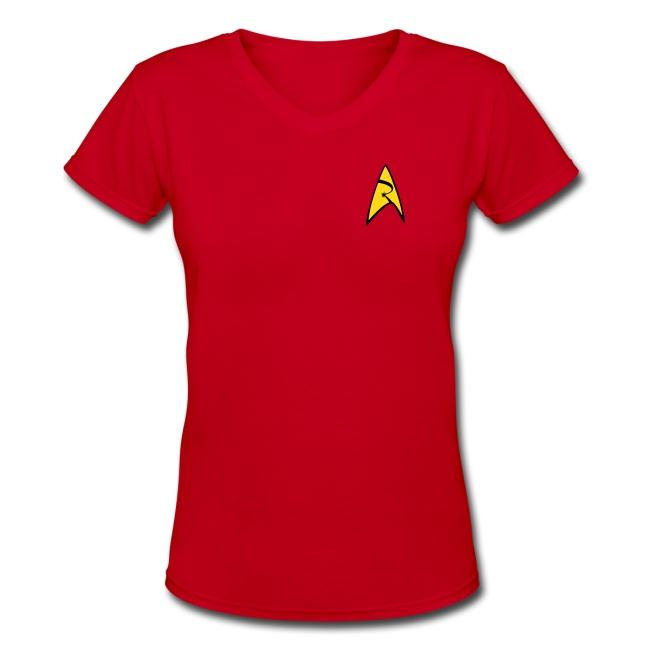 Mission Log Red Shirt (Women's)