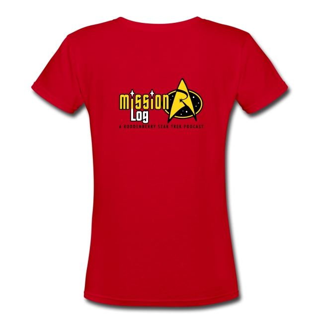 Mission Log Red Shirt (Women's)