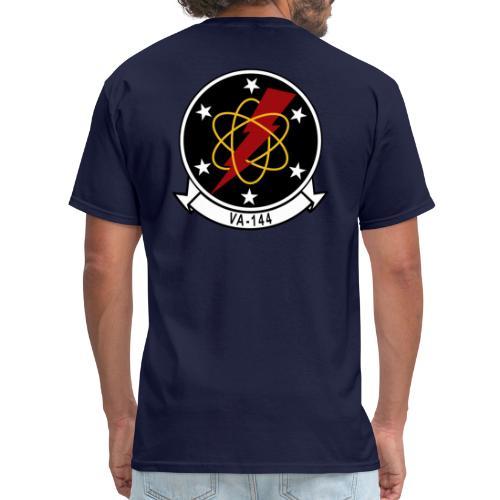VA-144 Roadrunners with Aviator Wings - Men's T-Shirt
