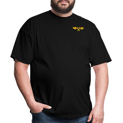 US Navy VF-96 Fighting Falcons with Airframe Wings - Men's T-Shirt