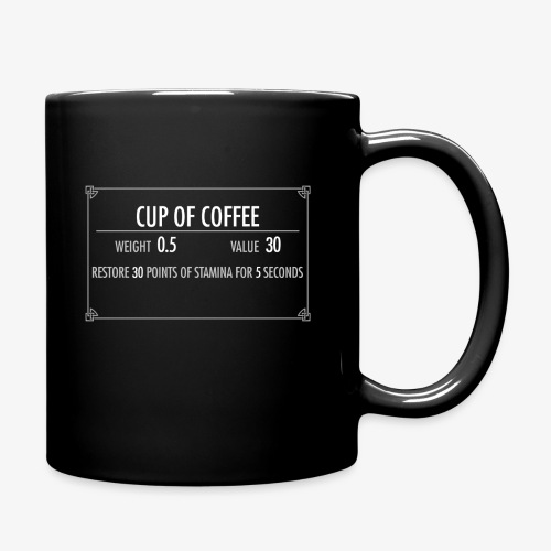 Coffee Mug of Stamina - Full Color Mug