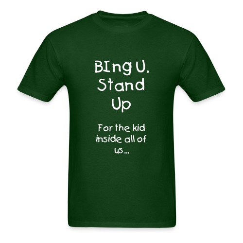 For the kid in all of us. - Men's T-Shirt