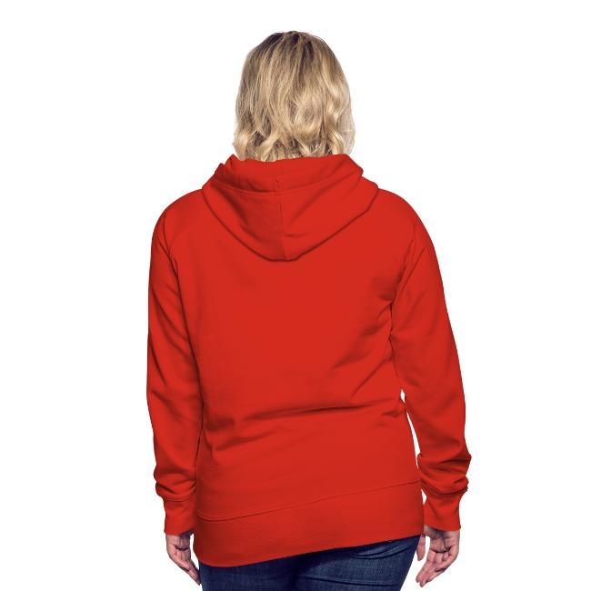 Moscow Mitch Kremlin Poster Womens Red Premium Hoodie