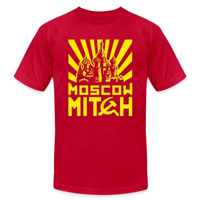 Moscow Mitch Kremlin Poster Mens Jersey T-shirt