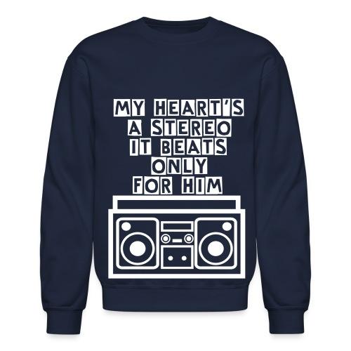 Stereo Love - Crewneck Sweatshirt