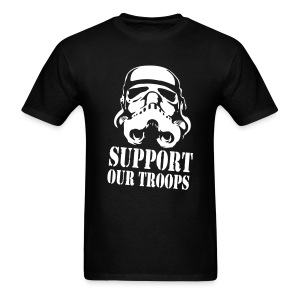 Support R' Troops - Men's T-Shirt