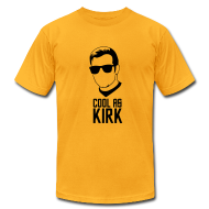 T-Shirts ~ Men's T-Shirt by American Apparel ~ Cool As Kirk