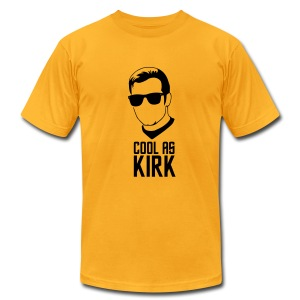 Cool As Kirk - Men's T-Shirt by American Apparel
