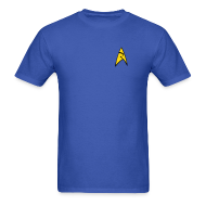T-Shirts ~ Men's T-Shirt ~ Mission Log Science Shirt